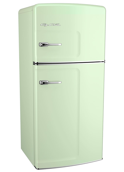 Retro Fridge-Jadite Green