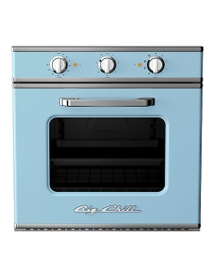 Retro Electric Wall Oven-Beach Blue