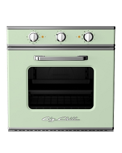 Retro Electric Wall Oven-Jadite Green