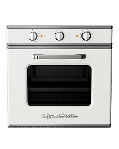 Retro Electric Wall Oven-White